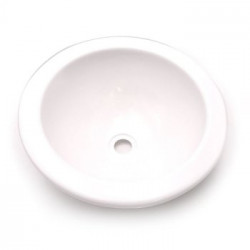 Lavabo porcellanato bianco