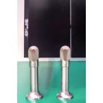 piedini acciaio anodizzati alluminio