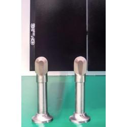Piedini in acciaio anodizzati alluminio